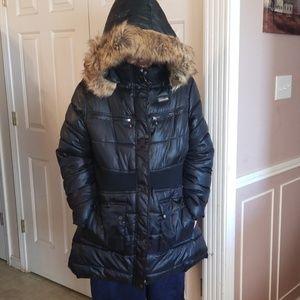 Coogi black puffer jacket